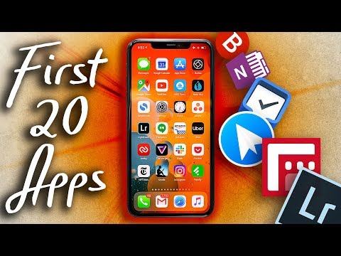 Top 20 Must Have IPhone 11 Pro Max Apps!