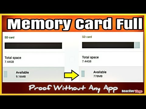 How to Clean SD Card Delete a Folder in Hindi/Reactiv Vlogs