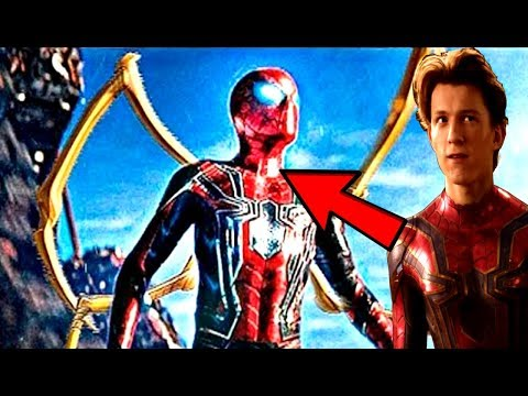 Avengers Infinity War New LOOK At The IRON SPIDER-MAN!? Will Spiderman ACTUALLY Die? VENOM Won't?