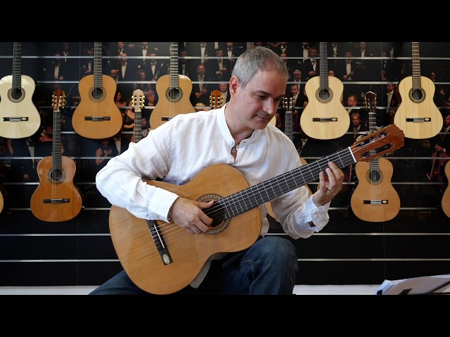 Salvador Cortez CC-22 | Chitarra classica | Guitar test by Gabriele Curciotti