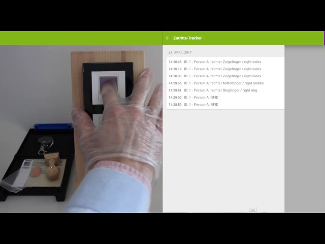 patesco.ag - fort knox - fingerprint scanner - function overview - subtitel