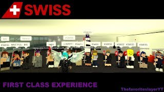 Roblox - Swiss Airbus A330 ~ To Tokyo, Japan (Business Class Experience)