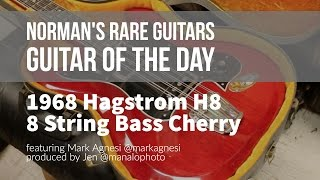 norman s rare guitars guitar of the day 1968 hagstrom h8 8 string bass