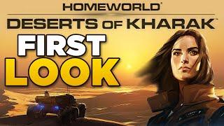 First Look - Homeworld Deserts of Kharak | Beginners Tutorial