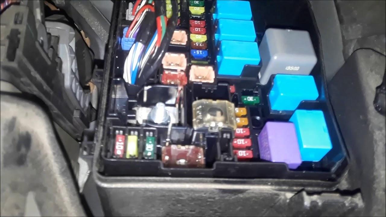 lexu nx fuse box [ 1280 x 720 Pixel ]