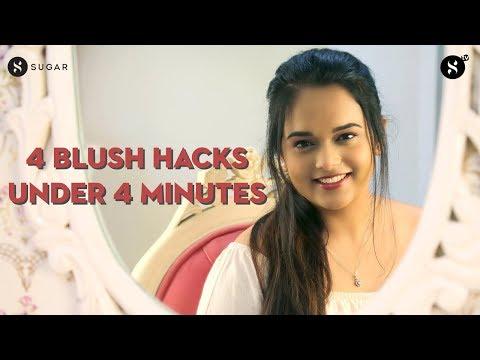 4 Blush Hacks Under 4 Minutes!   SUGAR Cosmetics