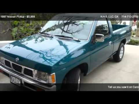 1997 nissan pickup xe for sale in costa mesa ca 92626 youtube. Black Bedroom Furniture Sets. Home Design Ideas