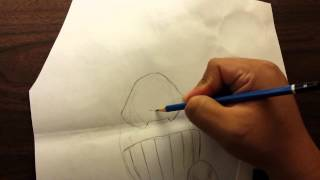 How to draw the juggernaut from Marvel comics.