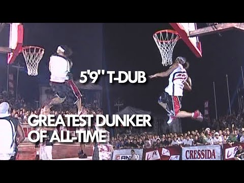 """GREATEST GAME DUNK of ALL-TIME! 5'9"""" T-Dub the BEST DUNKER ever!?!"""