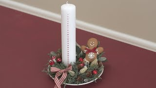DIY : Make a cosy Advent candle decoration for Christmas by Søstrene Grene