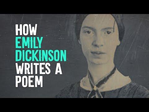 How Emily Dickinson Writes A Poem