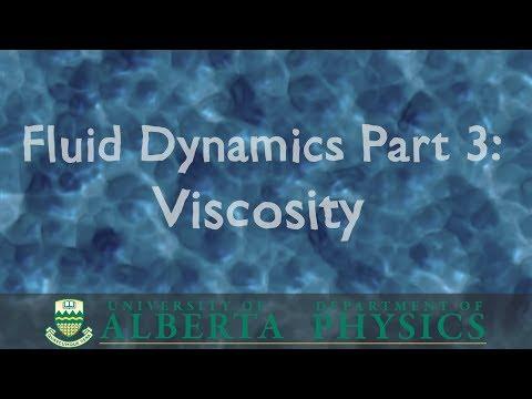 PHYS 146 Fluid Dynamics, part 3: Viscosity