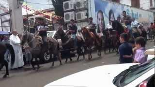 Cabalgata en Ario de Rosales ..2012.. 22 de julio
