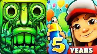 Temple Run 2 VS Subway Surfers iPad Gameplay for Children HD #71