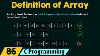 Definition of Array