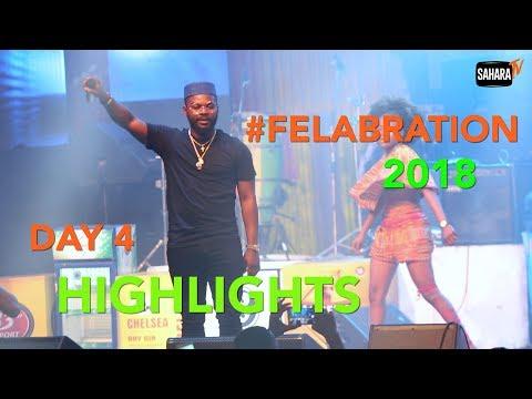 #Felabration2018 Day 4 Highlights: Omawumi, Niniola, Adekunle Gold And Falz Perform