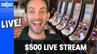 🔴LIVE Slot Machines 🎰 💰$500 at San Manuel Casino #AD
