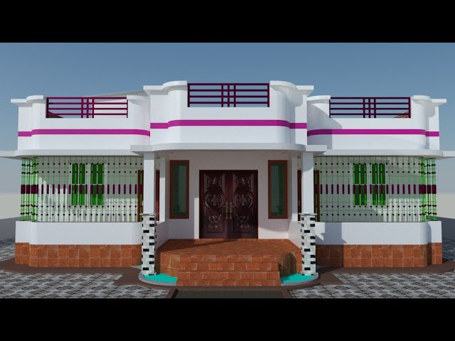 4 Bedroom House Design 1600 Square Feet Youtube