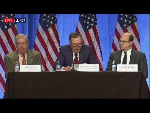 U.S. Trade Representative Ambassador Robert Lighthizer gave opening remarks to ...