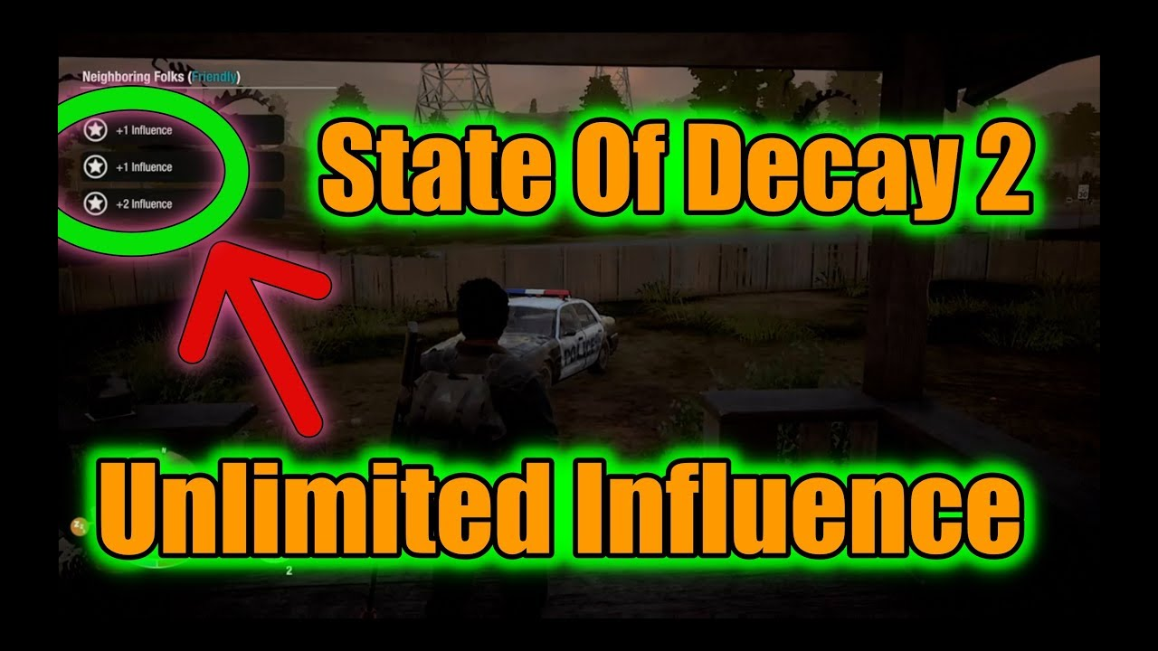 State of Decay 2 WORKING UNLIMITED INFLUENCE GLITCH