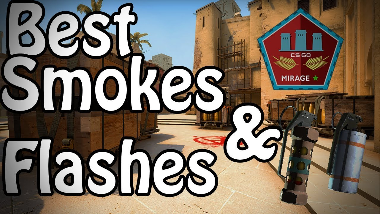 The Best Mirage Smokes And Flashes 2019