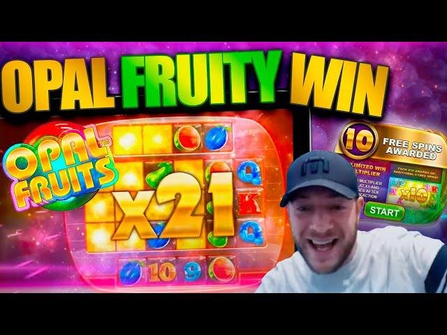 OPAL FRUITS HUGE WIN! New BTG Online Slot