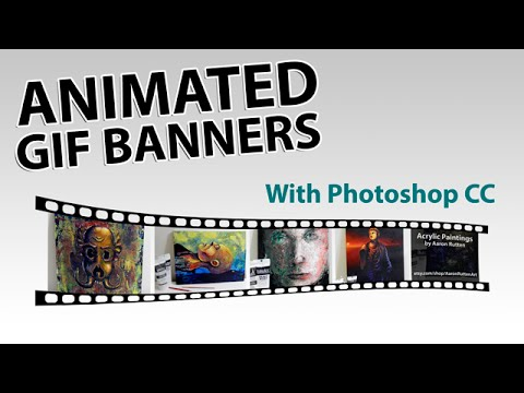 Designing Animated GIF Banners in Photoshop - YouTube