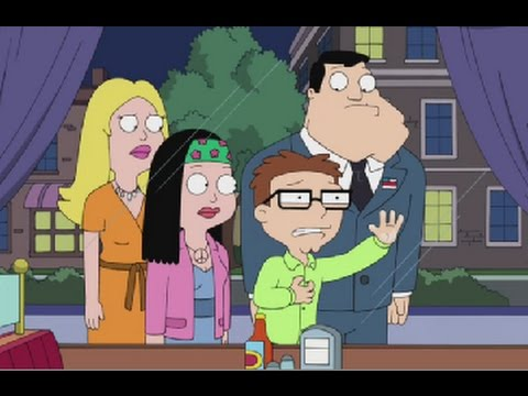 American Dad! Roger Cheats on the Family