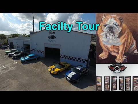 Tour of the Facility - Inside the Shop with Bubba and Tom