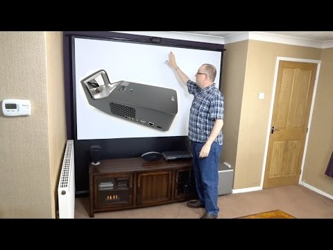 Assembling my Hidden Home Cinema with the LG PF1000U Minibeam Ultra Short Throw Projector (REVIEW)