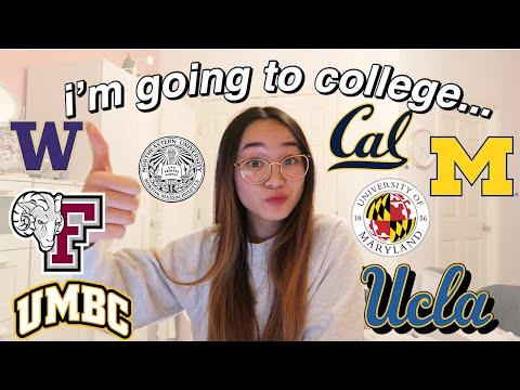 College Decision Reactions 2019 ✰ UCLA, UW, UMICH, NORTHEASTERN, UC BERKELEY +MORE