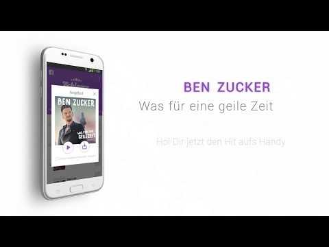 Ben Zucker - Was für eine geile Zeit (Hörprobe)
