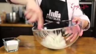 Видео рецепт о том, как правильно приготовить меренка и как взбить белки
