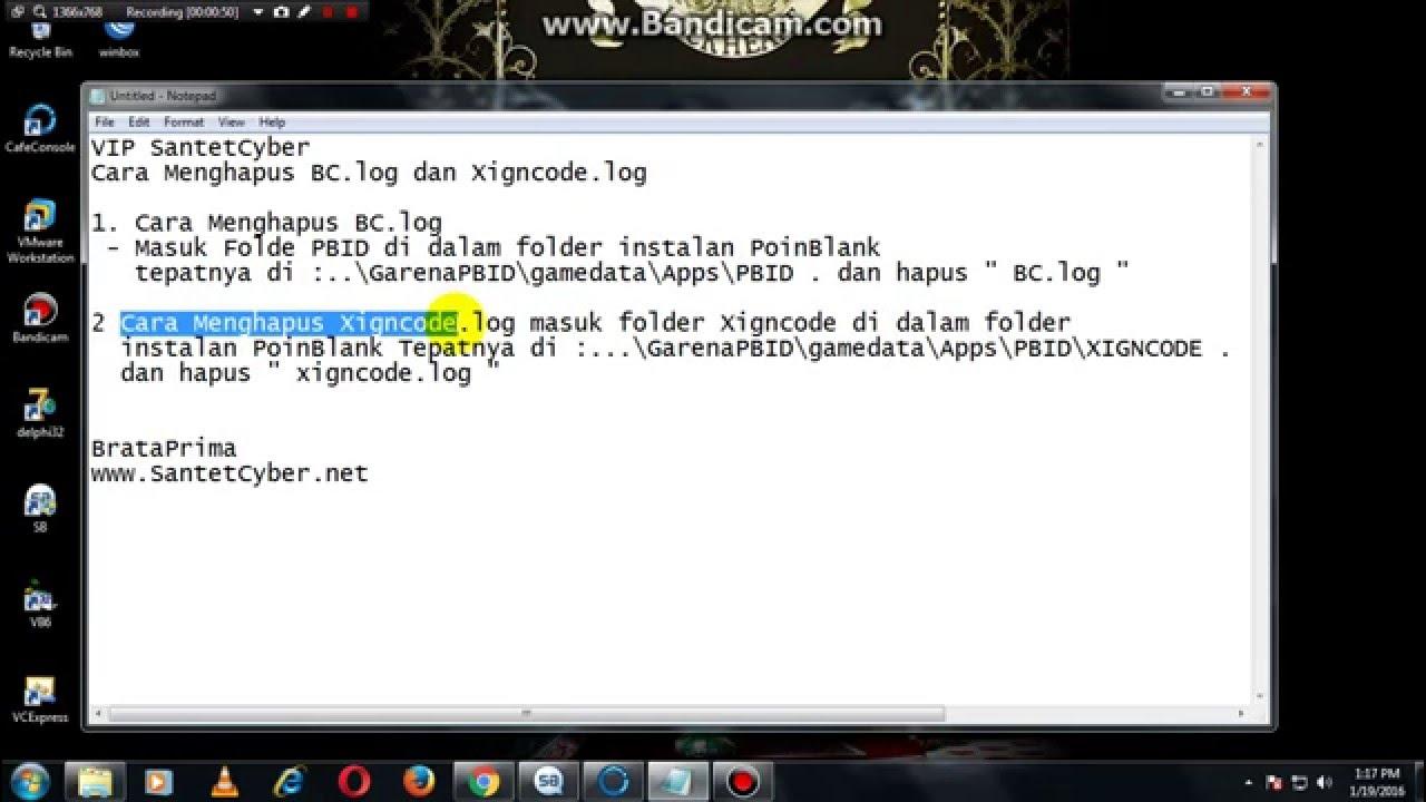 Xigncode Log
