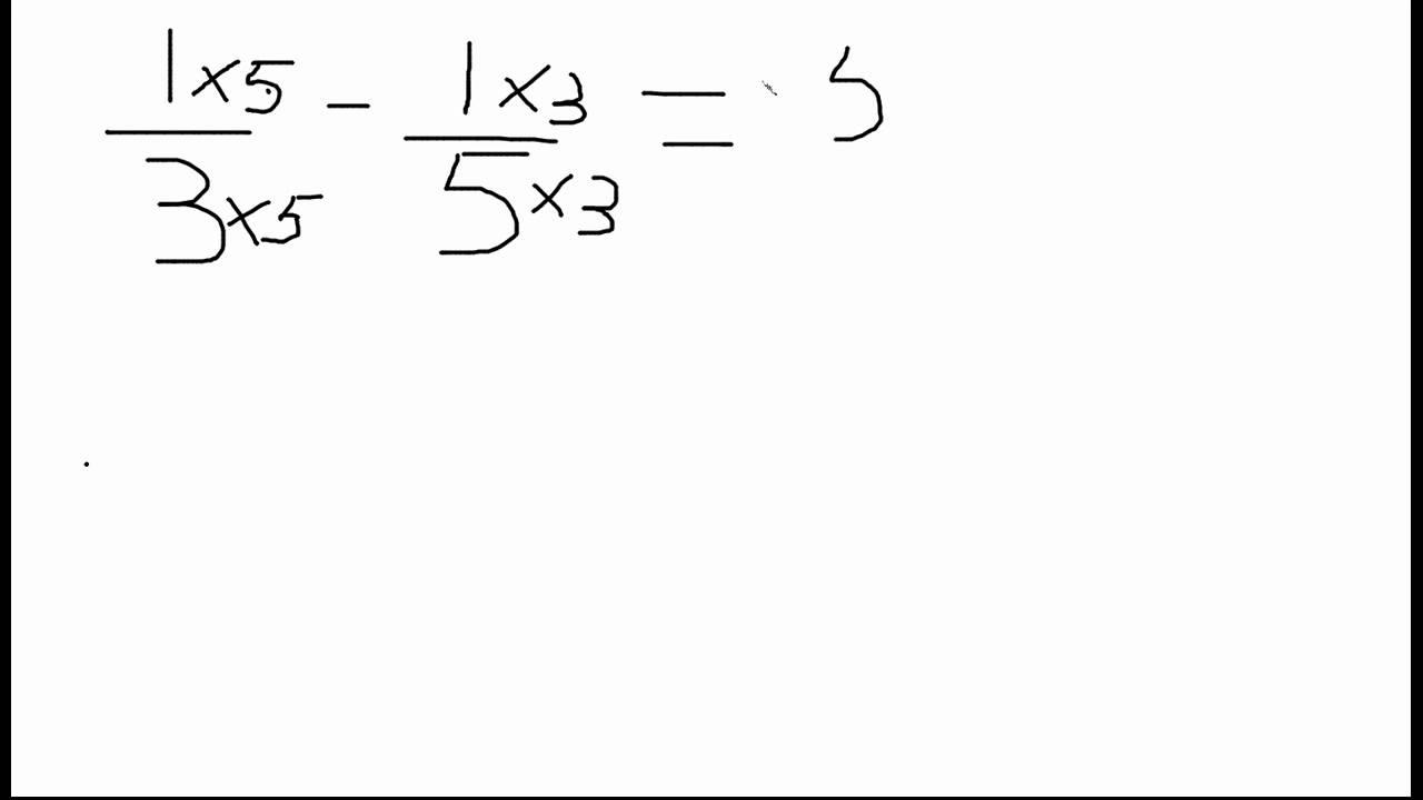 Exercice soustraction des fractions - Mathématiques ...