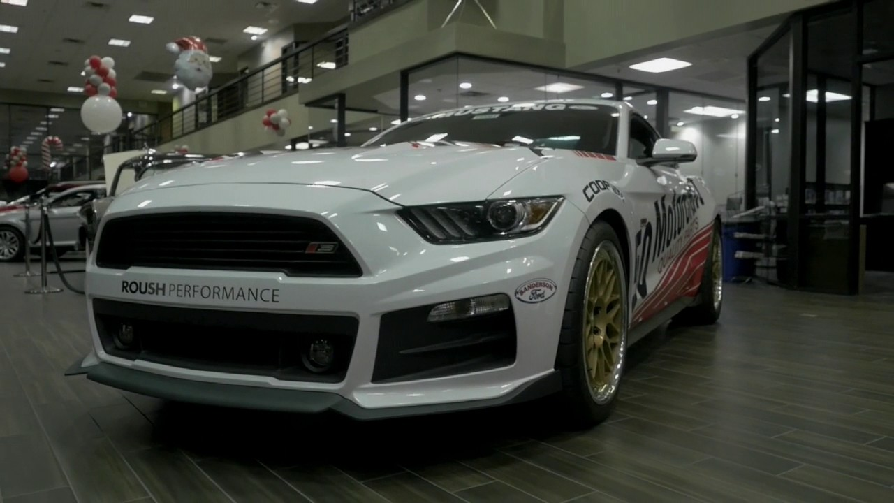 Sanderson Ford Donates Car To Help In Injured Boys Recovery YouTube - Sanderson ford car show