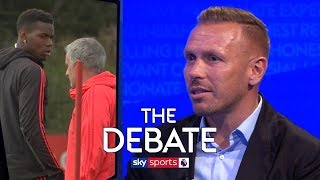 How can Pogba and Mourinho's feud be resolved? | The Debate | Bellamy & Murphy