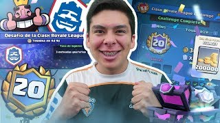 EARNING 20 VICTORIES OF CLASH ROYALE LIVE CHALLENGE!