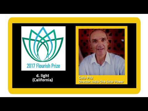 2017 Flourish Prize for Global Goal 7 –Affordable, Reliable, & Sustainable Energy