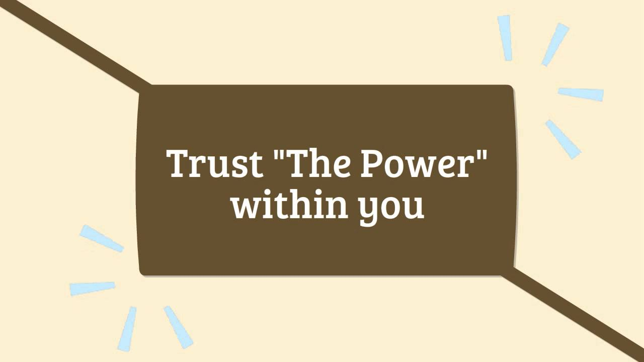 the power is within you hay louise l
