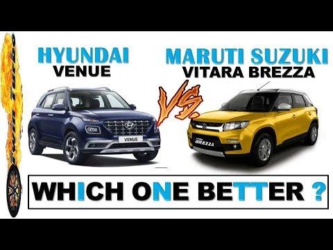 Hyundai Venue Vs Brezza Details Comparison In Hindi Hyundai Venue
