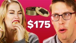 People Guess Cheap Vs. Expensive Caviar thumbnail