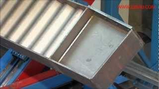 ZEMAN - robotic beam assembly/welding (SBA): frame joint