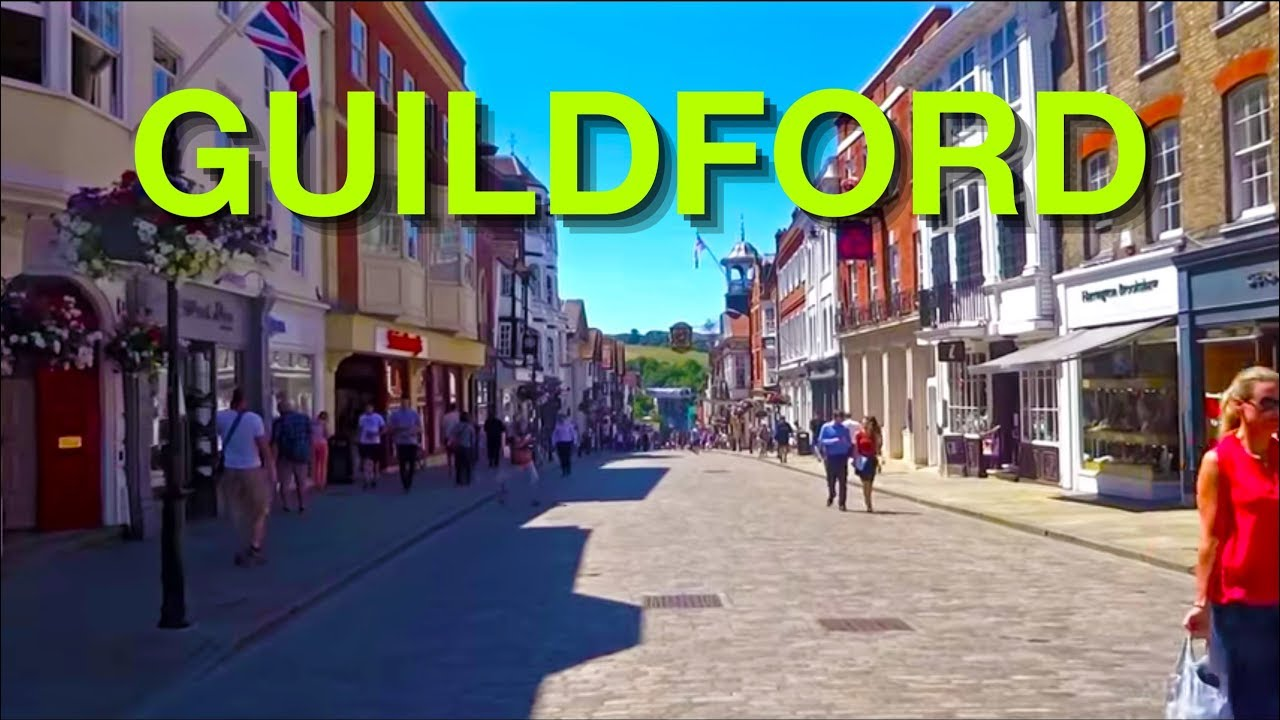Download Places To Live In The UK - Guildford , Surrey , GU1  ENGLAND
