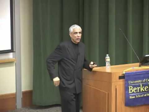 "Vinod Khosla on ""The Innovation Ecosystem"" - Haas School"