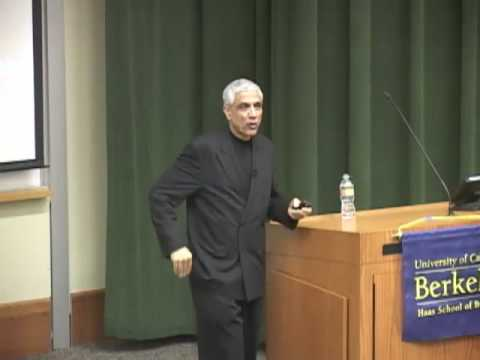 "Vinod Khosla on ""The Innovation Ecosystem"" - Haas School"