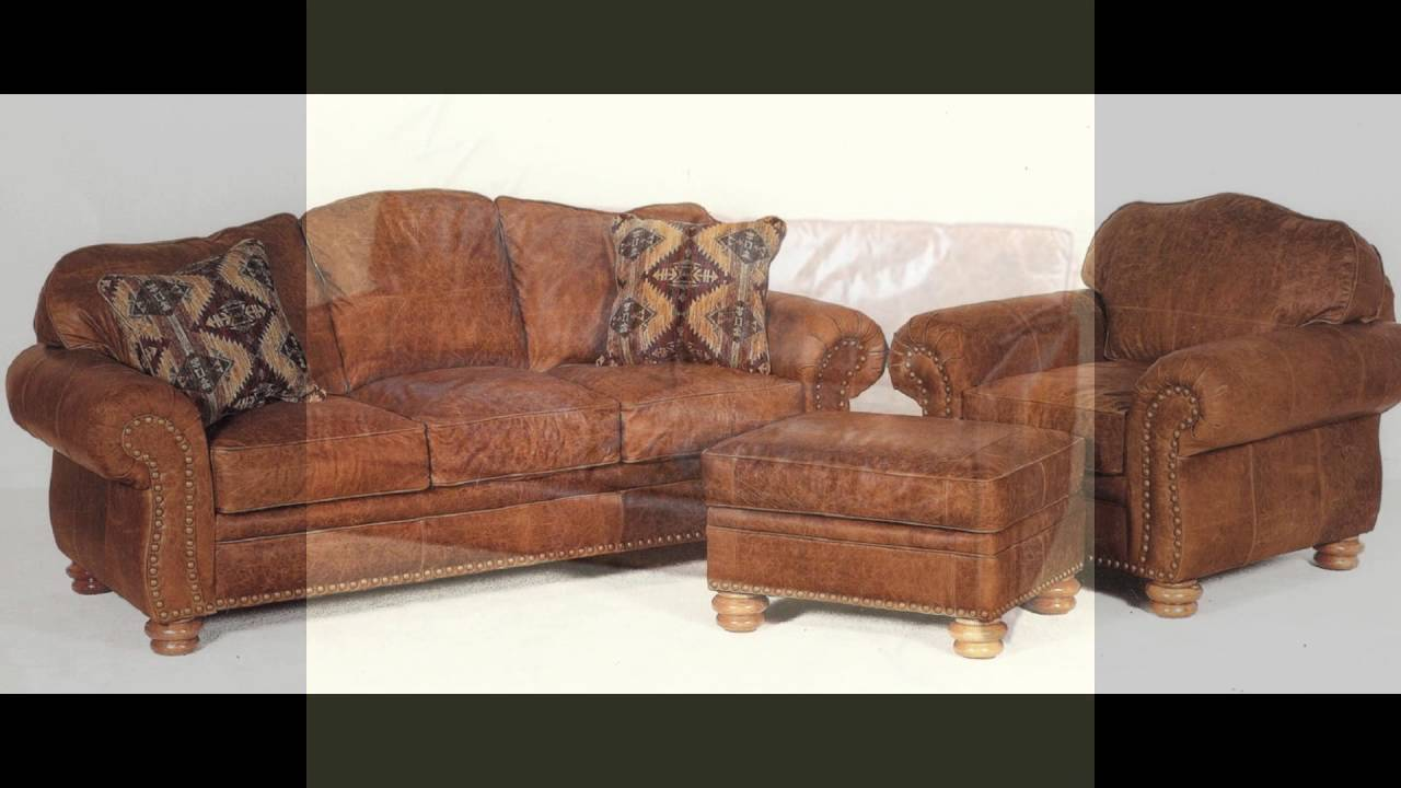 Nice Distressed Leather Sofas