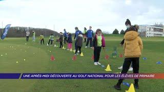 Yvelines | Après-midi découverte au Golf National pour des élèves de primaire