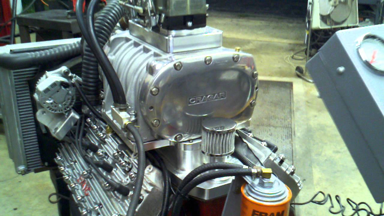 Custom Supercharged Flathead Ford V8