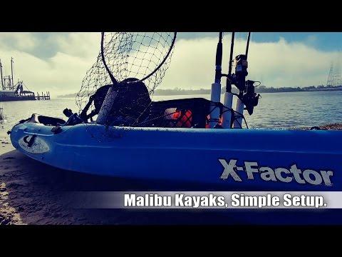 MALIBU KAYAKS - SIMPLE FISHING SETUP.